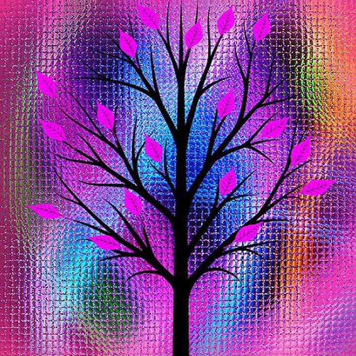 Mosiac Abstract Tree - Peggy Garr