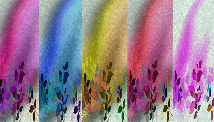 Rainbow Garden - Peggy Garr