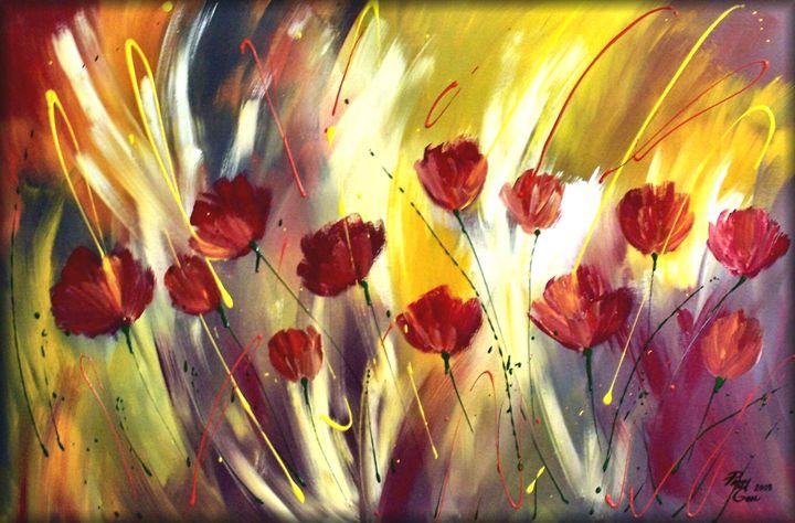 Poppy Garden - Peggy Garr