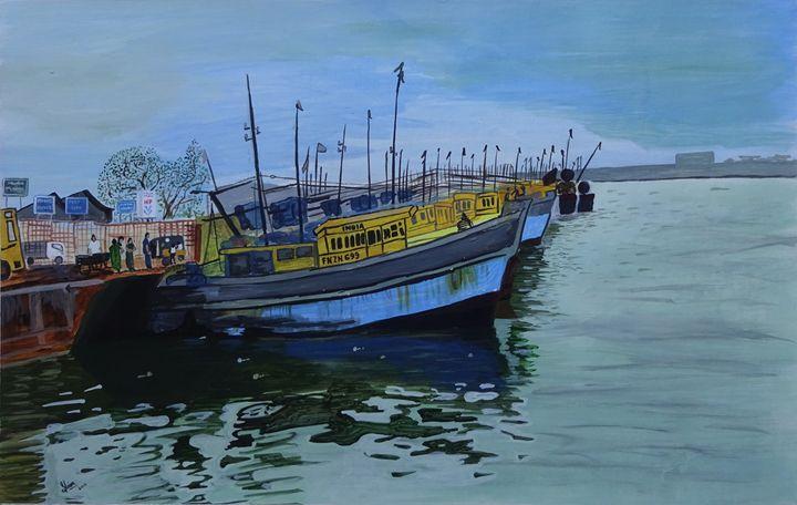 viskhapatnam harbour - shivaprasadreddy