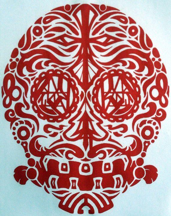 calaca one - barook's art and stuff