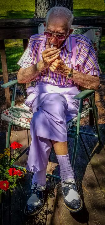 Grandfather Fred Mezias - Jason Fedor