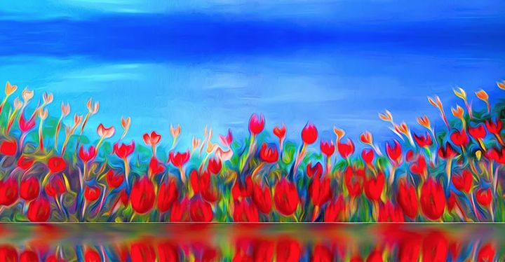 Singing Tulips - Lourdes Devers Clemente