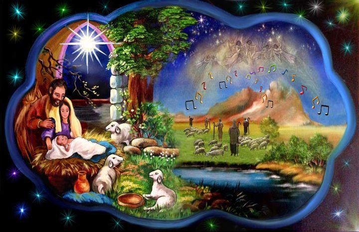 Jesus Birth - Lourdes Devers Clemente