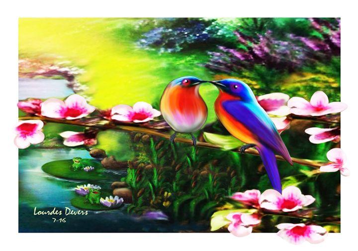 Love Birds - Lourdes Devers Clemente