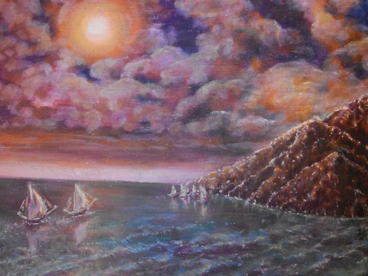 Sails and sea - Julia  Raj