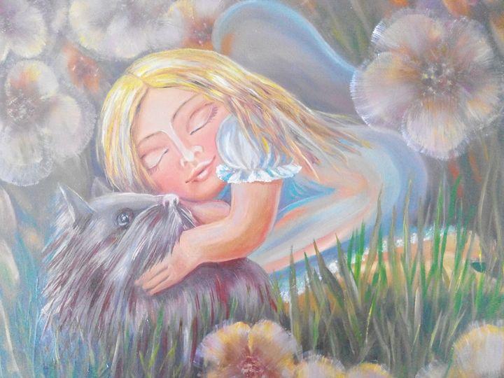 Sleeping angel - Julia  Raj