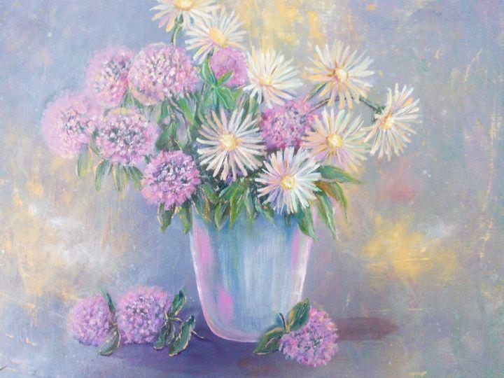 Clover and chamomiles - Julia  Raj