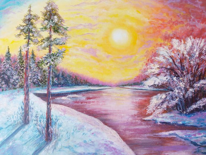 Winter landscape - Julia  Raj