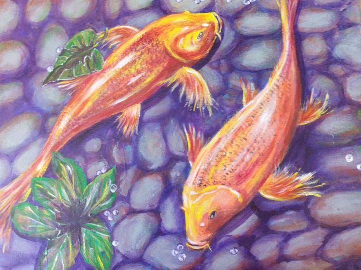Fish in th water - Julia  Raj