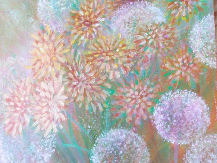 Dandelion field - Julia  Raj