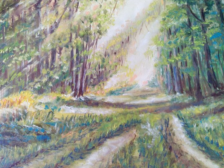 Road  to the forest - Julia  Raj