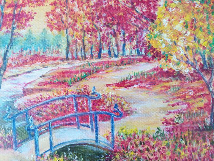 Fall in the park - Julia  Raj
