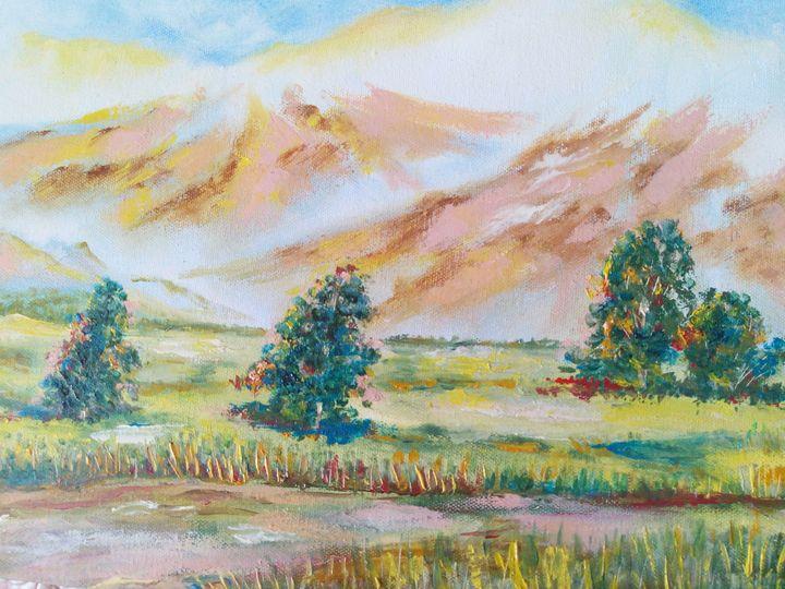 Morning  in the  mountains - Julia  Raj