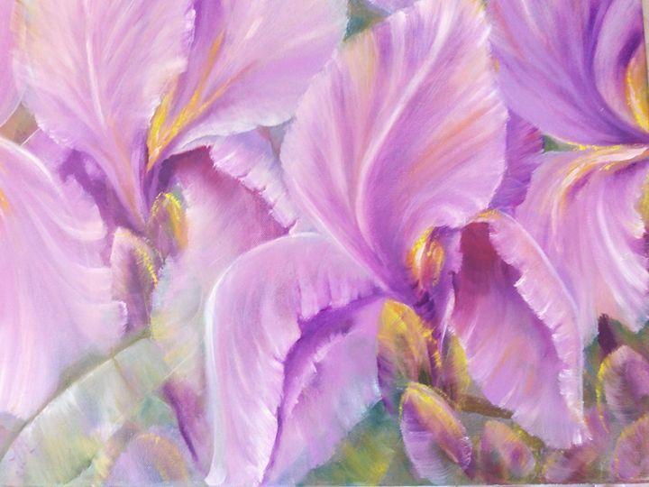 Irises 1 - Julia  Raj