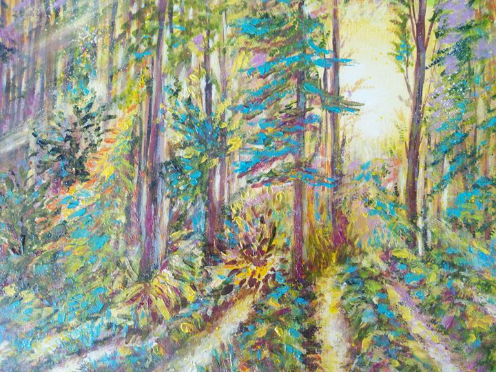 Morning in the forest 2 - Julia  Raj