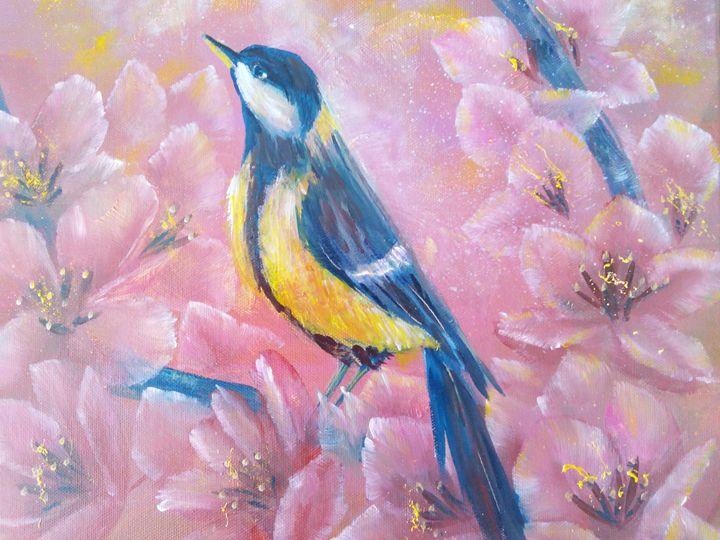 Morning bird - Julia  Raj
