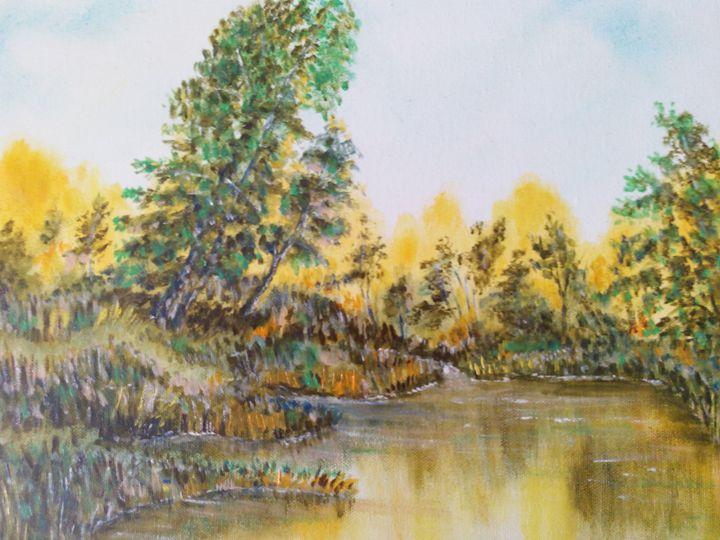 Pond in the fall - Julia  Raj