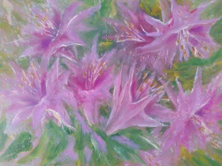 Pink flowers - Julia  Raj
