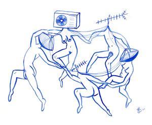 Matisse à la Dabke Satellite