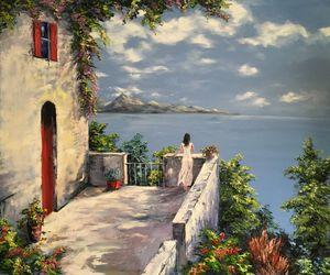 """Romantic Mood"" Oil painting"