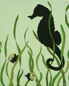 'ShadowPop' Butterfly Fish
