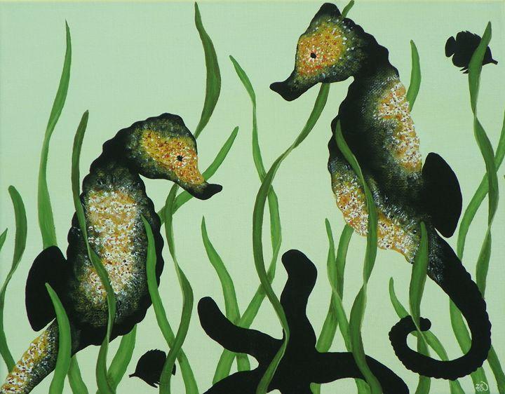 'ShadowPop' Seahorses - FL Creations