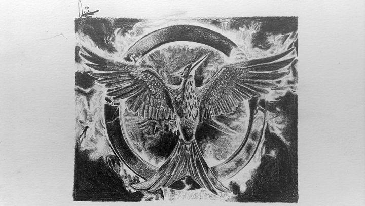 Mockingjay - Hunger Games - DortHarf Drawings