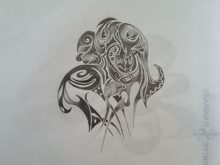 Abstract - DortHarf Drawings