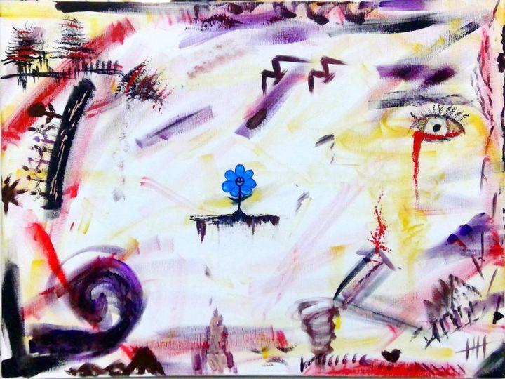 Blue hope - Mash.art