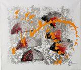 Acrylic colour Abstract original