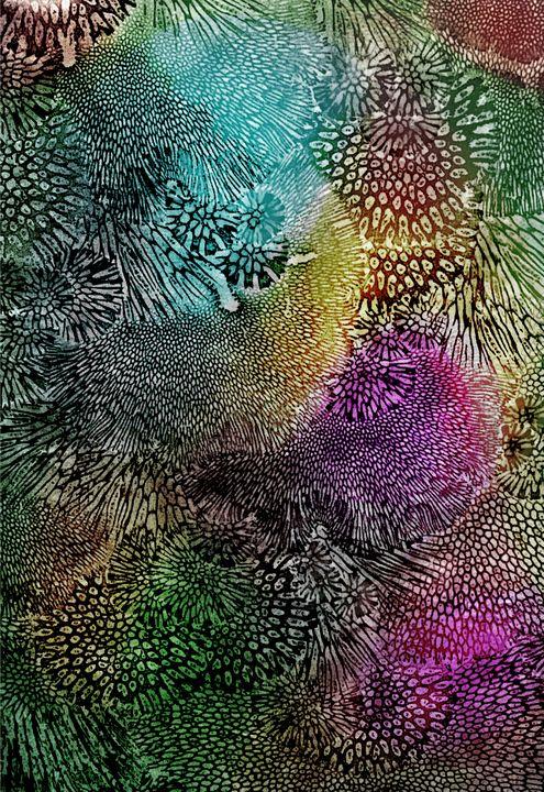 Coral embossing - ISurfLikeAGirl