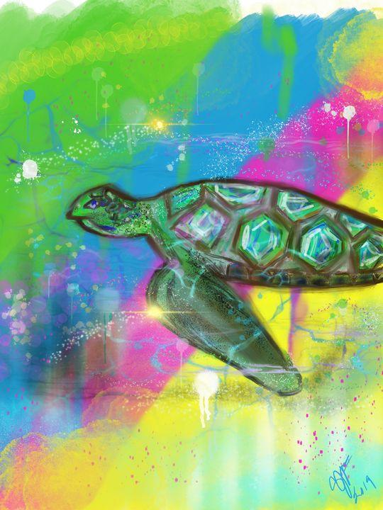 Sea Turtle - ISurfLikeAGirl
