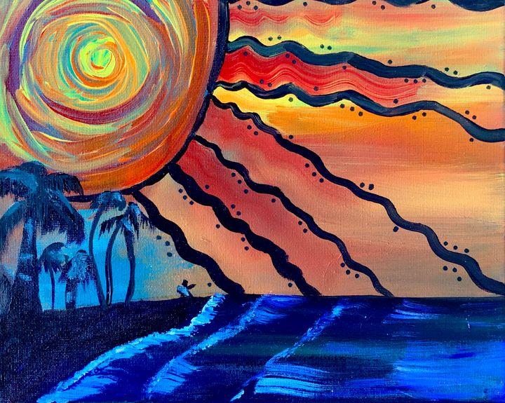 Sublime sunset - ISurfLikeAGirl