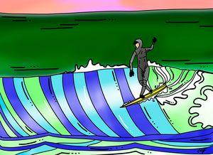 Longboarder Cathy