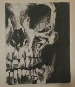 Just hard bone