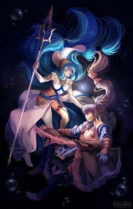 Azura and Takumi from Fire Emblem