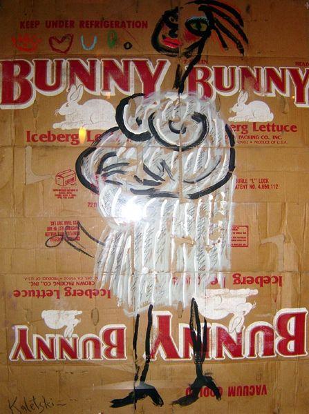 Funny Bunny by Alexander Kaletski - Collector's Muse