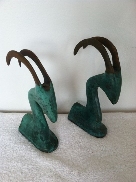 Antelope Bookends - Collector's Muse