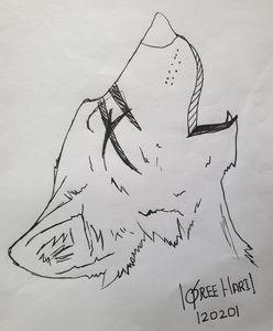Howling Wolf Art