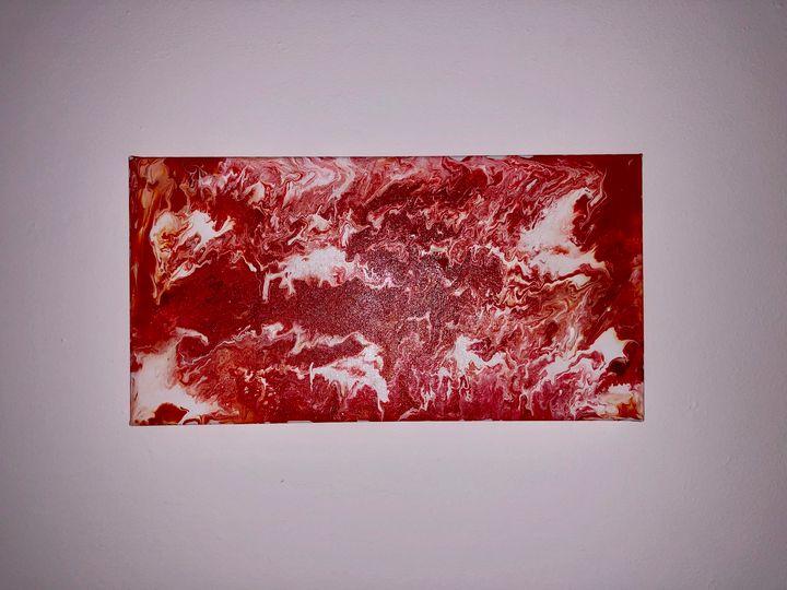 Acrylic pour painting - CarleyMxArt