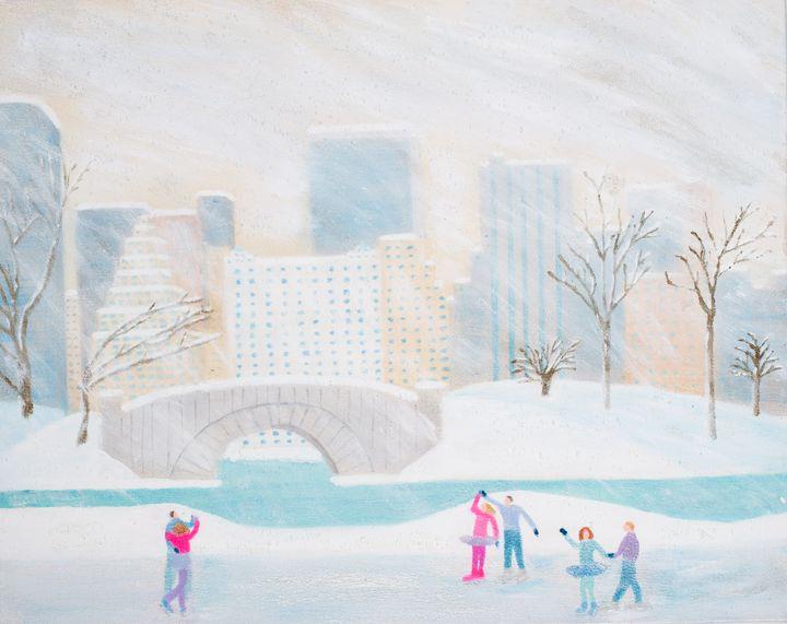 Let It Snow - MJ Hoehn Art