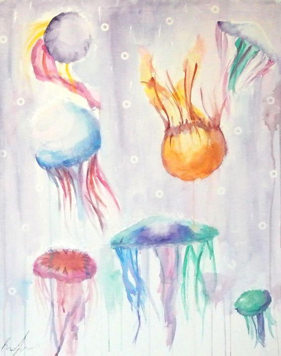Jellyfish Storm - Karena Ingram