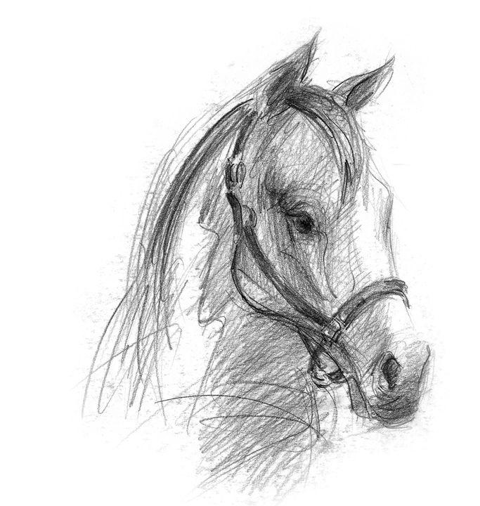 Horse head - Nedeljko Simanic