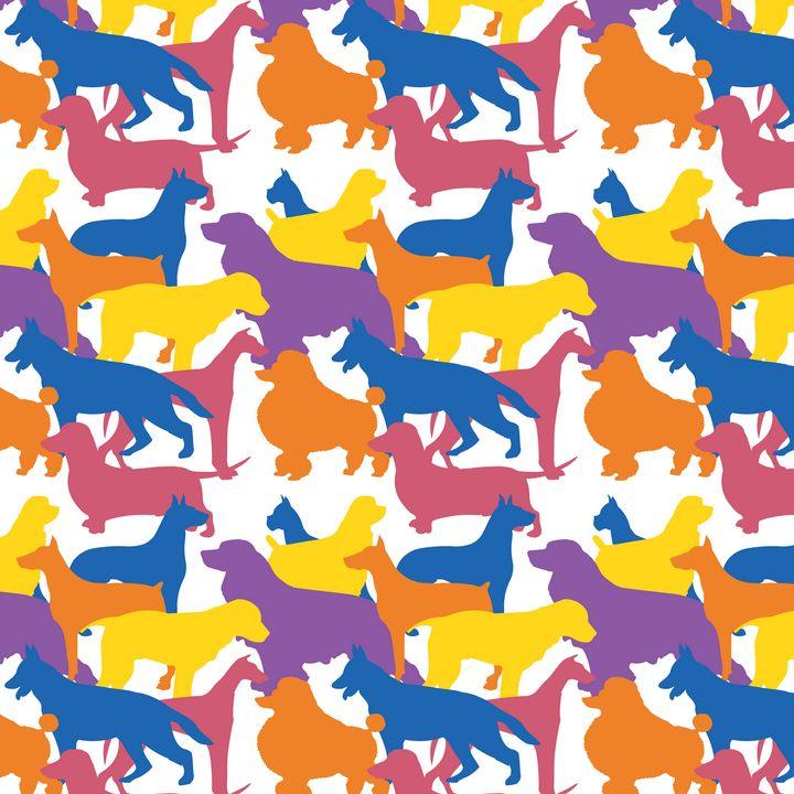 Dog Pattern - terai.nb
