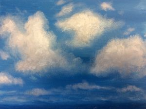 Acrylic clouds