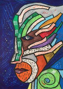 Facet Gałąź - The Branch Guy - Pytelewski Art UK