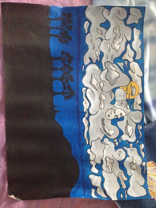 Night time - Koori (aboriginal) art