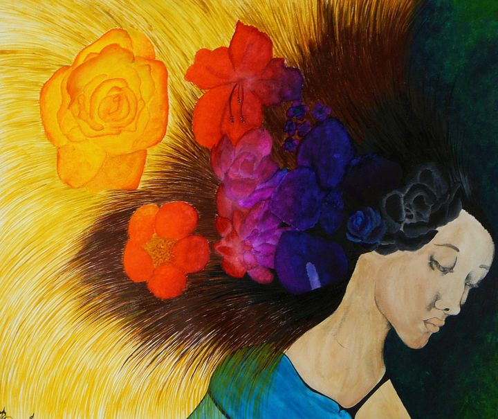 Colorfully Forbidden Thoughts - Sunsets From TheArt