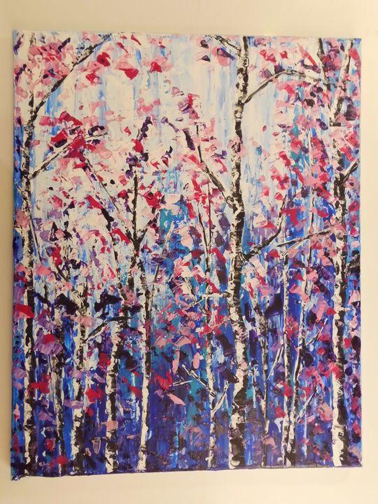 In The Woods Magenta - Jablonsky